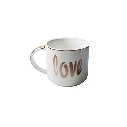 Mugs Tasses Tasse À Café en Porcelaine Empilable Tasses À Café Blanches De 400 ML Tasses À Thé Verres À Boire Drinkware Cuisine Dining, B