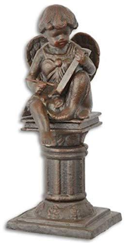 Casa Padrino Figura de decoración de jardín Art Nouveau de Hierro Fundido...