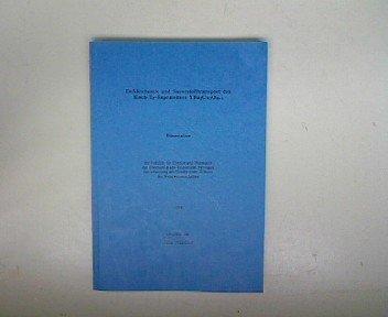 Defektchemie und Sauerstofftransport des Hoch-Tc-Supraleiters YBa2Cu3O6+x. Dissertation.