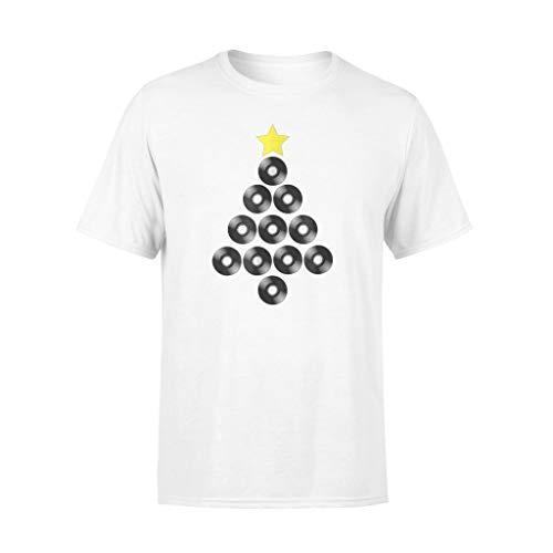 Cognifield Divertida camiseta de vinilo con diseño de árbol de Navidad