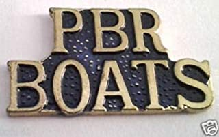 Pin for Hats - PBR Boats (Patrol Boat Riverine) Military Veteran US Navy Hat Pin - Decoration for Clothes