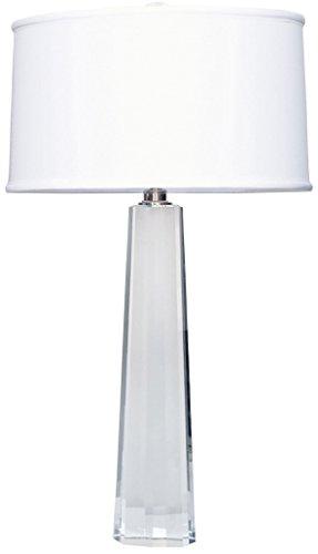 Elk Lighting 729-LED Crystal Faceted Column LED Table Lamp, Clear
