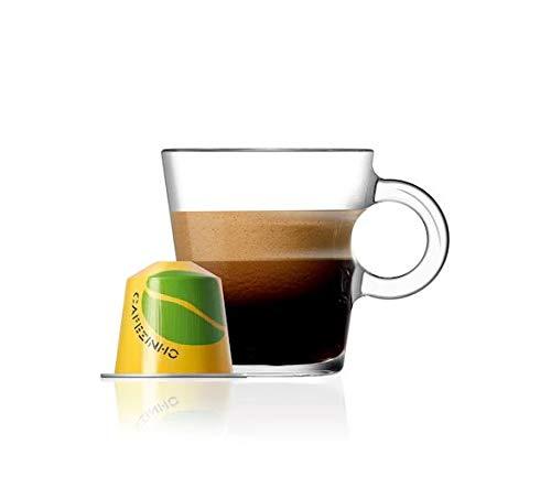 Nespresso Coffee Pods 10 Capsules 1 Sleeve Original Line Single Serve Espresso / Intenso / Lungo / Flavrored / Limited Edition ALL FLAVORS (10 Pods Cafezinho do Brasil (Limited Edition))