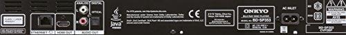 Onkyo BD-SP353 (S) Blu-ray Player (1080p Upscaling, AVCHD/DivXPlus HD/MKV/flac/MP3, BD-Live | Silber