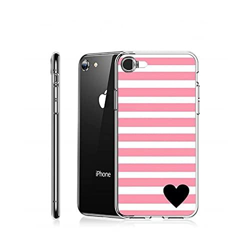 amor patrón corazón lindo teléfono caso transparente para el iPhone para Samsung A S 11 12 6 7 8 9 10 20 Pro X XS Max XR Plus lite-a9-iphone 12 promax