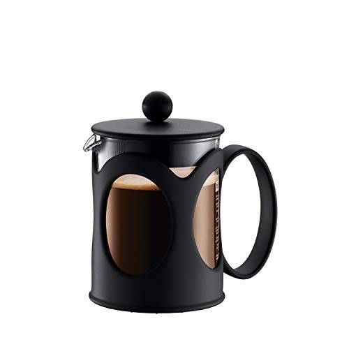 Bodum Cafetera émbolo, Acero Inoxidable, Negro, Centimeters