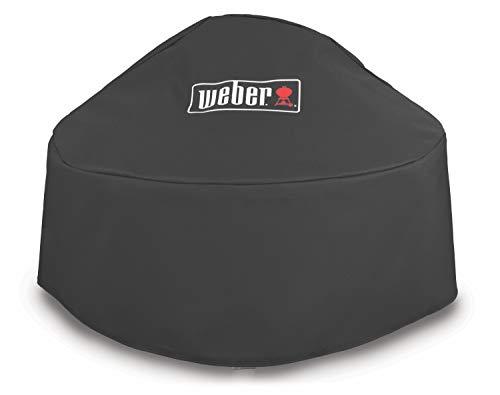 Weber 7159 Premium Abdeckhaube für Fireplace, schwarz