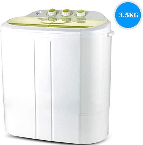 Lavadora Portátil Compacto 2 En 1 Secadora De Ropa, Adecuado For Acampar Cuartos De Baño Balcón Dormitorio Se Puede Lavar 8kg / Green