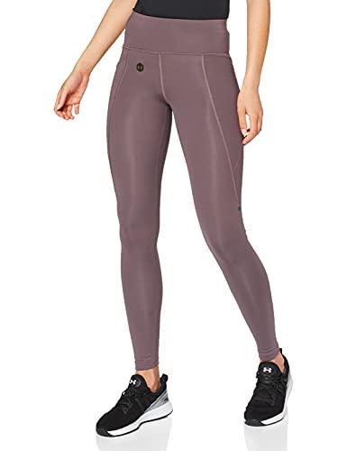 Under Armour Femme Legging UA Rush, pantalon de sport respirant pour femmes avec technologie Rush, legging de sport léger à la coupe compression