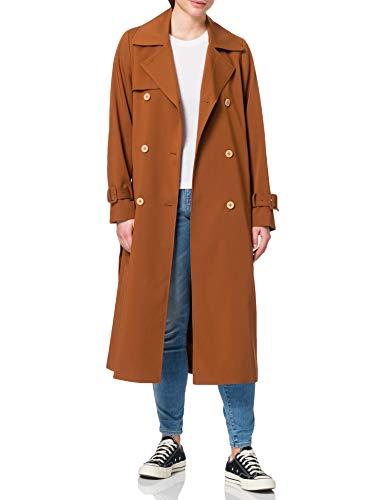ESPRIT Collection Damen 021EO1G303 Jacke, 225/TOFFEE, L