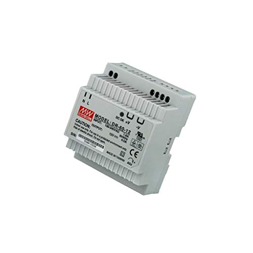 DR-60-12 Pwr sup.unit pulse 54W 12VDC 4.5A 85÷264VAC 124÷370VDC 300g MEANWELL