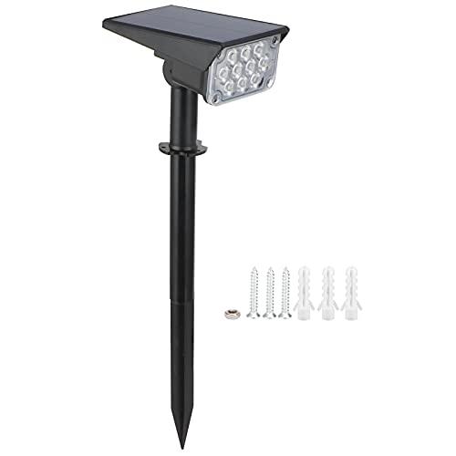 Lámpara solar, focos solares Luminaria ecológica para exteriores Lámpara solar LED para patios Lugares escénicos, parques, senderos, paredes, balcones, jardines(10 lights-RGB)