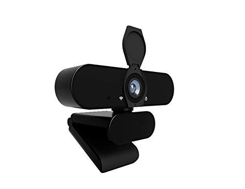 NOV8Tech Webカメラ マイク付き フルHD 1080P Webカメラ USBプラグ & プレイ デスクトップPC & ノートパソコン Windows & MacOS用 ビデオライブストリーミング/ビデオ会議/ゲーム用 顔面強化技術