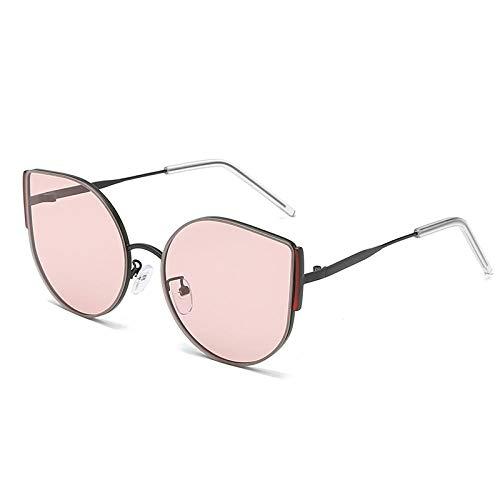 DLSM Gafas de Sol con Forma de Ojo de Gato para Mujer, Gafas...