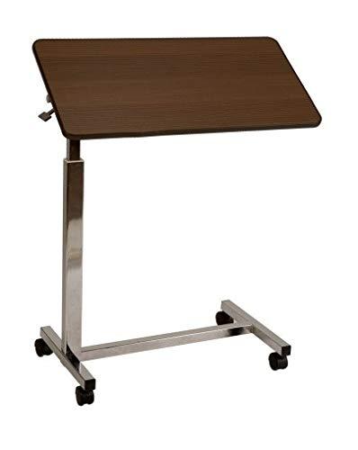 Tavolino servitore da letto regolabile in altezza