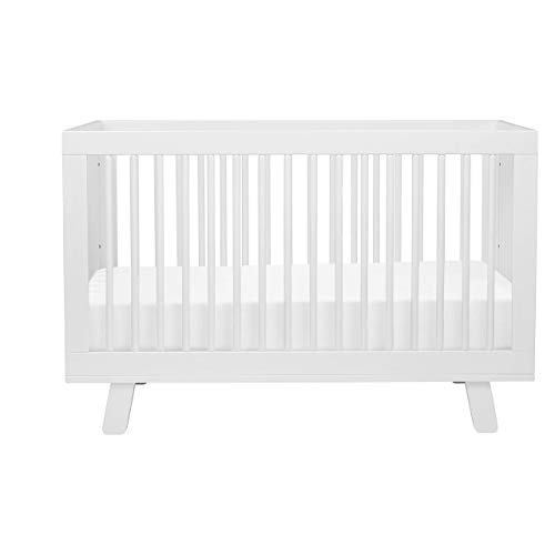 Babyletto Hudson 3in1 Convertible Crib with Toddler Bed Conversion Kit White