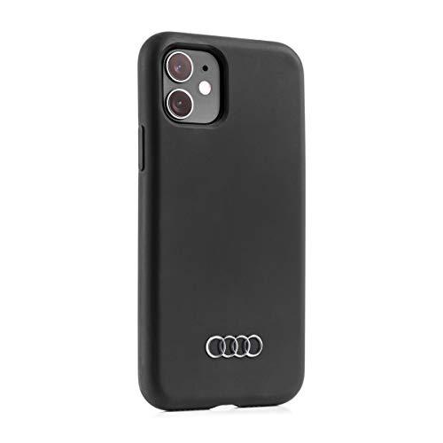 Audi collection 3222000200 Smartphone Case Schutzhülle Cover Mobiltelefon, für Apple iPhone11, Schwarz