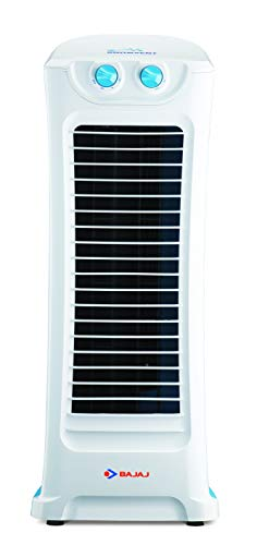Bajaj Snowvent Tower Fan (Blue-Turquoise)