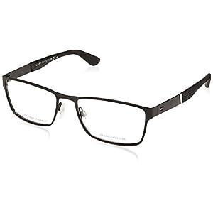 Eyeglasses Tommy Hilfiger T. 1543 0003 Matte Black / 00 Demo Lens, 56/18/145