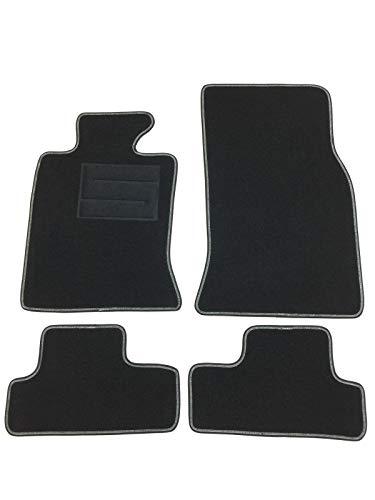 Moqueta, alfombrilla para coche, color negro para Mini Cooper de 3P R56, modelos2007–2014