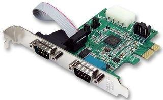 StarTech.com 2 Port Serielle RS232 PCI Express Schnittstellenkarte mit 16950 UART - RS-232/DB9 PCIe Karte mit LP4