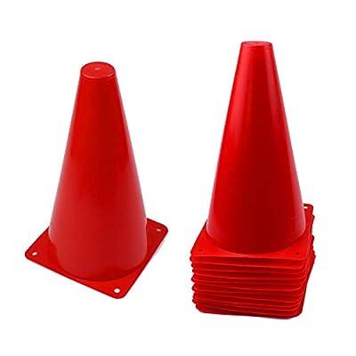 KAREZONINE 12 Pack 9 inch Traffic Cones, Plasti...
