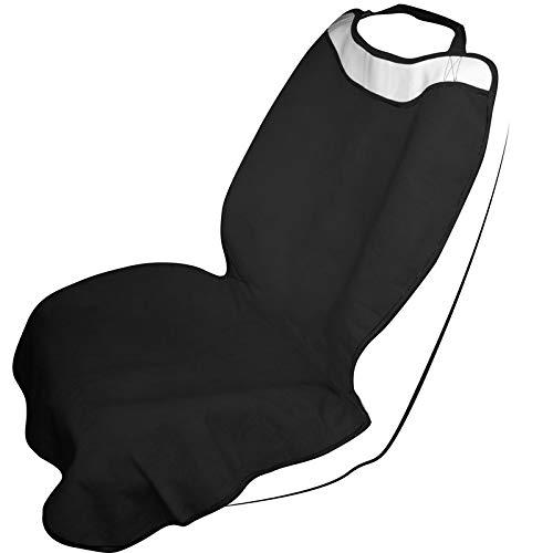 Motorup America Yoga Sweat Towl Auto Seat Cover - Fits Select Vehicles Car Truck Van SUV - Black