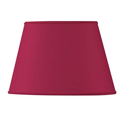 Ovale lampenkap Diameter 45 x 28/29 x 20/27 Bordeaux rood