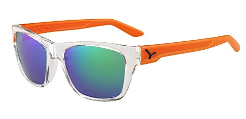 Cébé Cébé Hacker - Gafas de Sol, Hombre, Color Hacker Cristal Orange 1500 Grey FM Green, tamaño M
