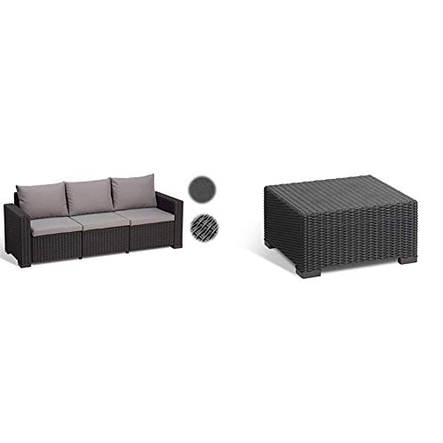 Allibert - Möbelsets in Graphit/ Panama Cool Grey