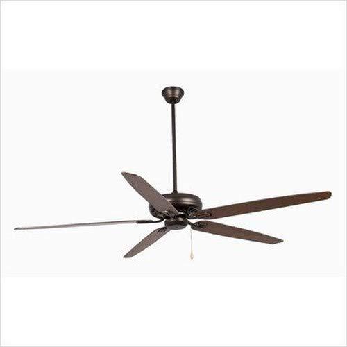 Faro 33363 - NISOS Ventilatore da soffitto marrone