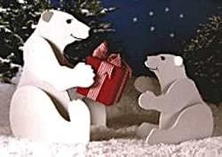Best wooden polar bear pattern Reviews