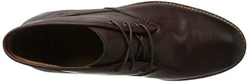 Clarks Clarks Herren Montacute Duke Kurzschaft Stiefel, Braun (Chestnut Leather), 44 EU