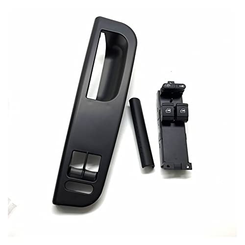 Keep it simple 3 unids Fit for Golf 4 Mk4 Passat B5 B6 Coche Interruptor Nuevo Interruptor de Control de la Ventana del automóvil de Estilo de automóvil + Panel de la Puerta + Manija