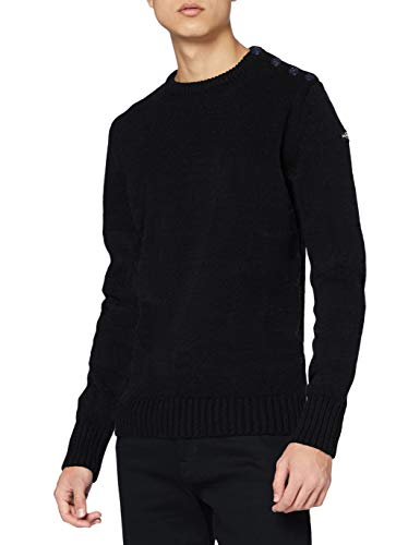 Schott NYC Outrider1 Pull, Bleu (Navy), X-Large (Taille fabricant: XL) Homme