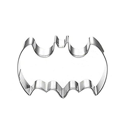 Albeey Edelstahl Plätzchenform Backen Keks Batman-Form