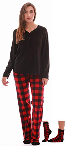 Just Love Henley Pants Set with Socks for Women 6732-10195-2X
