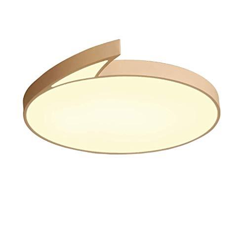 Led-plafondlamp, ultradun, creatief, paddenstoel, modelbouw, plafondlamp voor jongens en meisjes, kamer, met tekening, romantisch, kamer, decoratief, LED, dimbaar, plafondlamp, verlichting [klasse D WhiteThree Color Light45cm