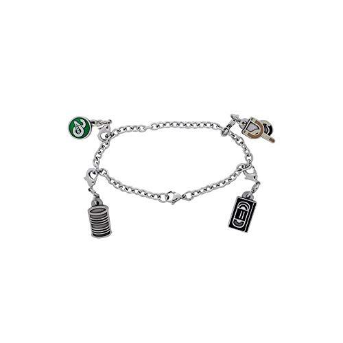 geo-versand Celebrating 20 Years of Geocaching Charm Bracelet Armband trackbar Schmuck