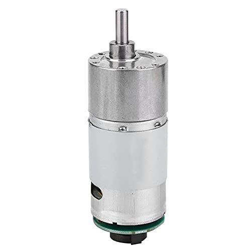 Motor de engranajes de torsión grande 10~1500 Rpm 12 / 24V para dispositivo de inteligencia para automóvil autoequilibrado(24V, speed 200)