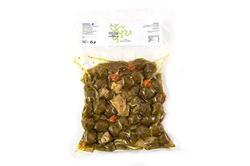 Grüne Oliven von Giardiniera, Nocellara del Belìce 500 g