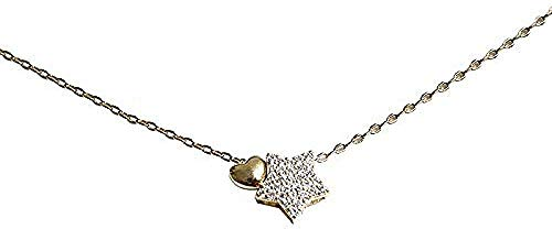 NC188 Lady Star Necklace Simple Trend Charm Necklace