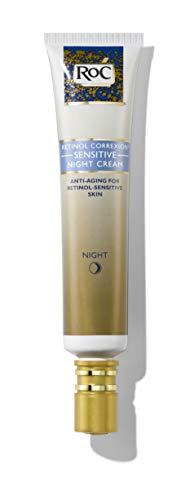 RoC Retinol Correxion Anti-Aging Sensitive Skin Night Cream with Retinol & Hyaluronic Acid, 1 Ounce