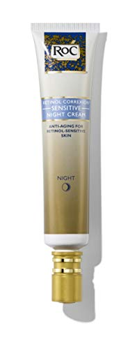 RoC Retinol Correxion Anti-Aging Sensitive Skin Night Cream with Retinol & Hyaluronic Acid, 1 Ounce
