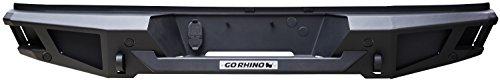Go Rhino 28173T Textured Black Powder Coat Finish Rear Replacement Bumper (BR20)
