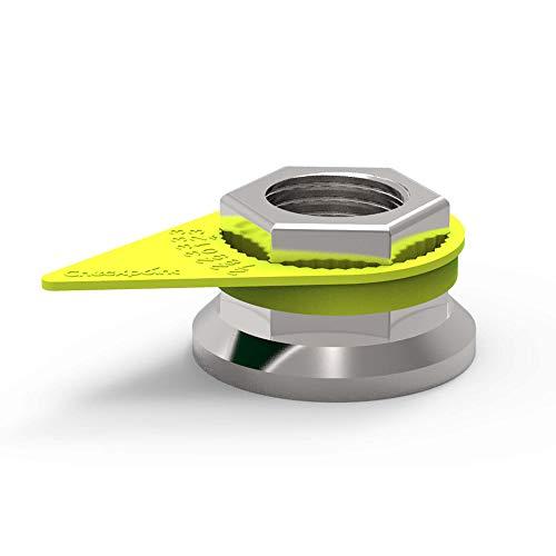 Radmutter Indikator Bison Checkpoint Schlüsselweite 33 | Radmutternindikator LKW, Checkpoint für Radmuttern SW33