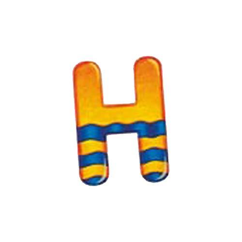 Selecta Spielzeug Alphabet H, Buchstabe, Kinderzimmer Deko, Holzspielzeug, Holz, 8 cm, 60908