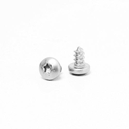 DIWARO® Edelstahlschraube für Rolladen Stahlwellen | 3,5 x 6,5mm | TX10 | Rollladen, Jalousie Rollo