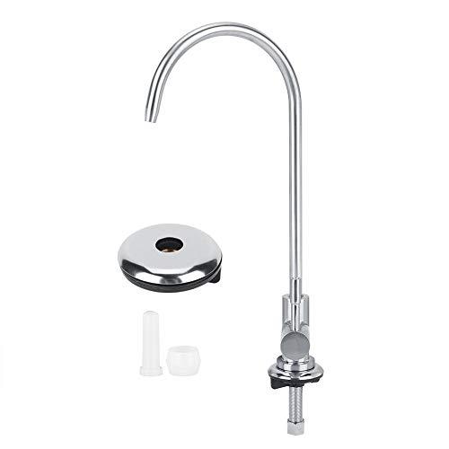 Fdit huishouden zinklegering waterkraan 1/4 in waterinlaat wastafel waterkraan eenhands waterkraan voor waterfilter opzetwastafel in huis badkamer keuken MEERWEG OPSLUITING