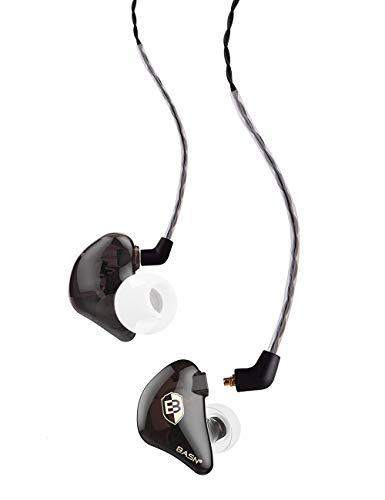 BASN Bsinger BC100 in Ear Monitor Headphone Universal Fit Noise...